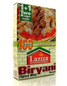Laziza Biryani Spices Mix | Buy Online at The Asian Cookshop
